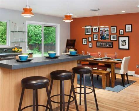 burnt orange walls home design ideas pictures remodel