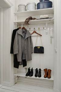 Garderobe Für Flur : die besten 25 offene garderobe ideen auf pinterest offener schrank kleiderschrank ideen und ~ Markanthonyermac.com Haus und Dekorationen