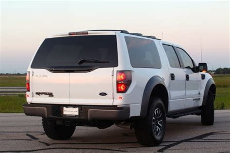hennessey velociraptor suv conversion autofluence