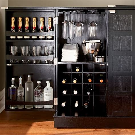 crate and barrel steamer bar cabinet top 25 ideas about bar cabinet project on