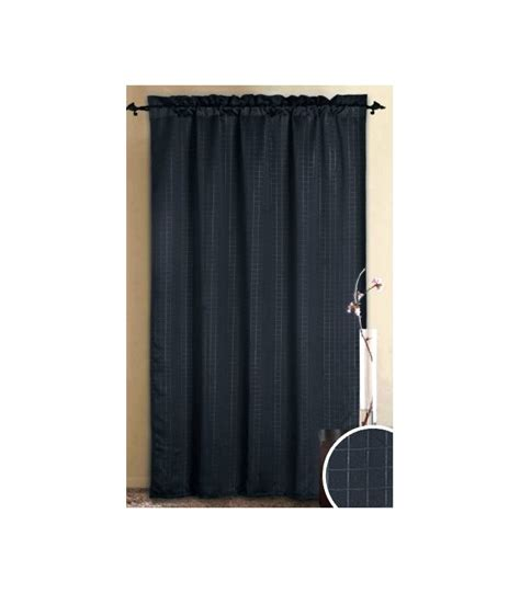 bedding alaska black thermal insulated blackout curtain