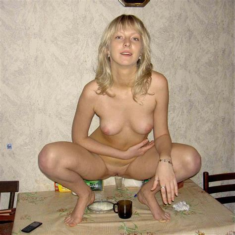 Blond russian beauty getting herself drunk before getting into hardcore sex action | Russian ...