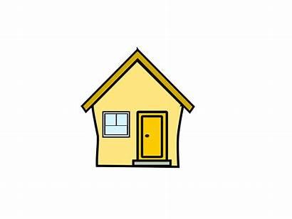 Haus Clipart Yellow Clip Gelbes Hausbau Cliparts