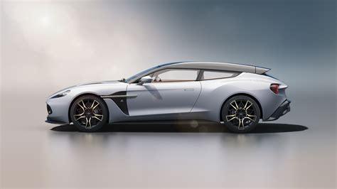 Aston Martin Vanquish 2019 by Aston Martin Vanquish Zagato Shooting Brake 2019 4k