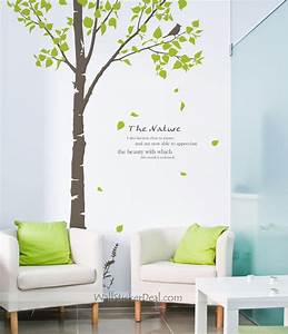 The nature tree wall decals home decorating photo