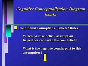 Cognitive Conceptualization Diagram  Cont