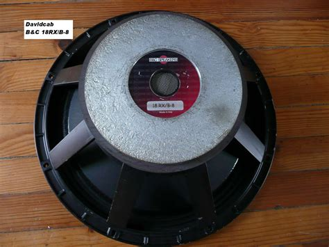 B&c Speakers 18rx/b-8 Image (#572015)