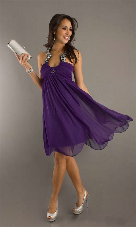 Elegant Purple Long and Short Party Costumes Looks u2013 Designers Outfits Collection