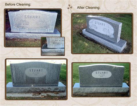 headstone and monument cleaning cleveland ohio classic