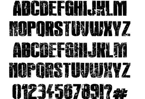 Rock's Death Font By Imagex
