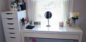 Makeup Vanity/Collection/Organization - YouTube