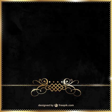 Bild Schwarz Gold by Elegantes Schwarz Und Gold Hintergrund Der