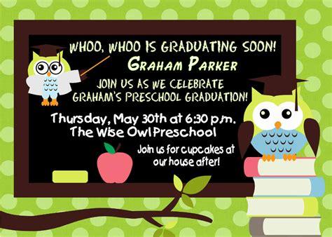 preschool graduation invitation preschool graduation invitations preschool graduation 86684