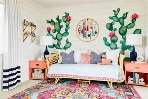 Marin's Boho Cactus Room Reveal - J & J Design Group