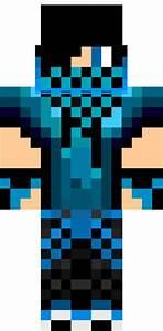 Blue Creeper Teenager Skin | Minecraft Skins