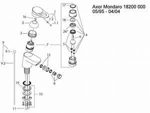 Hansgrohe Axor Mondaro Bidet Mixer Tap Shower Spares And