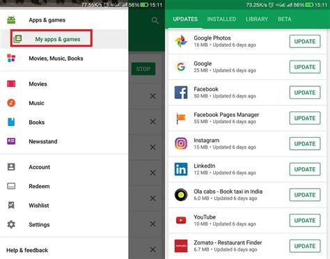 how do you update apps on android how to stop apps from updating automatically in play