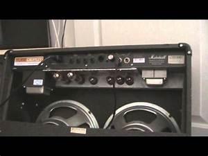 Marshall Jtm 60 All Valve Amplifier Over Heating Fix