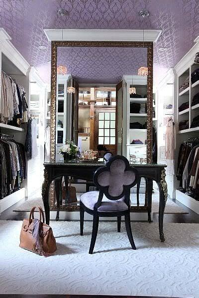 make up vanity in walk in closet walk in closet