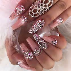Best ideas about rhinestone nail designs on