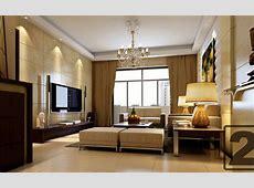 客厅电视背景墙设计效果图_土巴兔装修效果图