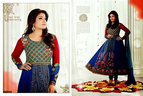 Bollywood Anarkali Frocks 2013 2014 Embroidered Anarkali
