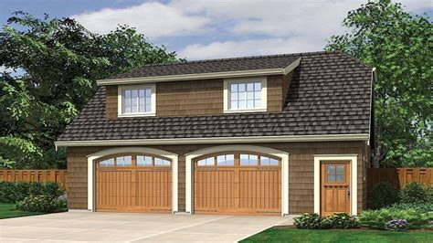 Small House Plans With Detached Garage  Detached Garage