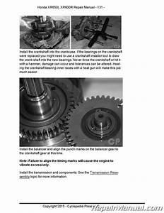 Honda Xr600r Xr650l Motorcycle Cyclepedia Printed Service Manual