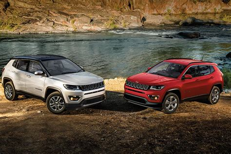 jeep compass 2017 red jeep compass launched in india at inr 14 95 lakh autobics