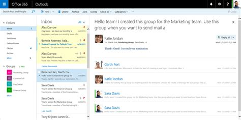 Office 365 Outlook Layout by Microsoft Frist Outlook In Office 365 Op Met Features En