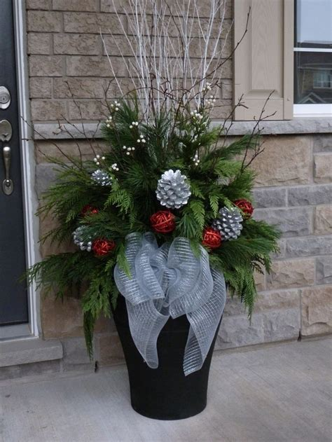 christmas planter decor pictures photos and images for