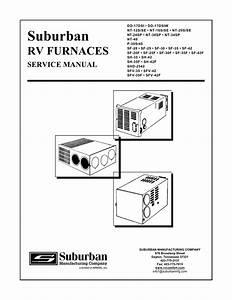 Suburban Propane Furnace Model P
