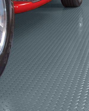 G Floor® Covering   Diamond Pattern Industrial Grade Silver