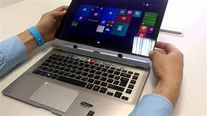 How To Detach Tablet  Screen From Keyboard On Toshiba