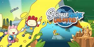 Scribblenauts Unlimited Nintendo 3ds Games Nintendo