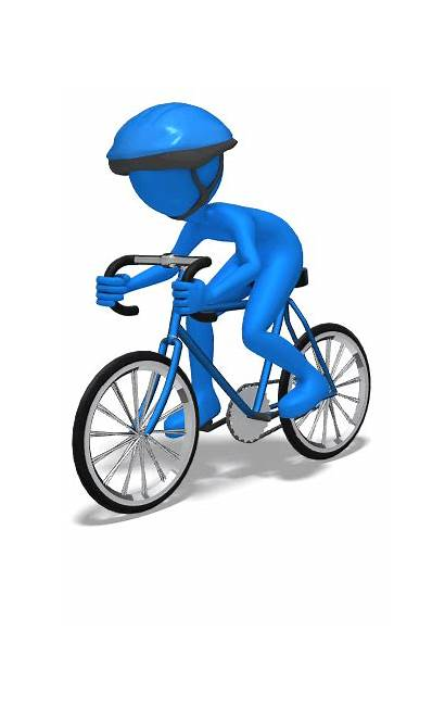 Stick Bicycle Figure Cyclist Illinois Chicago 3d