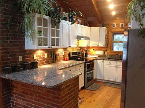 decorative backsplashes kitchens interior brick veneer made from bricks from