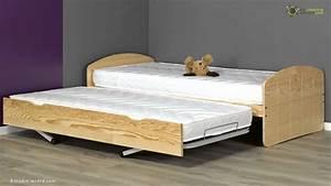 Lit Bois Massif Ikea : lit enfant gigogne dream 39 in ma chambre d 39 enfant youtube ~ Teatrodelosmanantiales.com Idées de Décoration