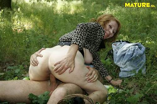Illustration Of A Mature Biker In The Forest #Granny #Loves #A #Good #Cock #In #The #Forest