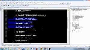 saving nested documents in mongodb database using c With mongodb nested documents