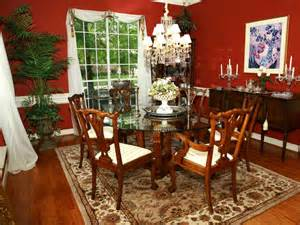 Christmas Centerpieces For Dining Room Tables by 10 Red Dining Room Designs Decorating Ideas Design