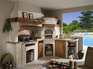 je veux amenager une cuisine d39ete travauxcom With modele de cuisine d ete