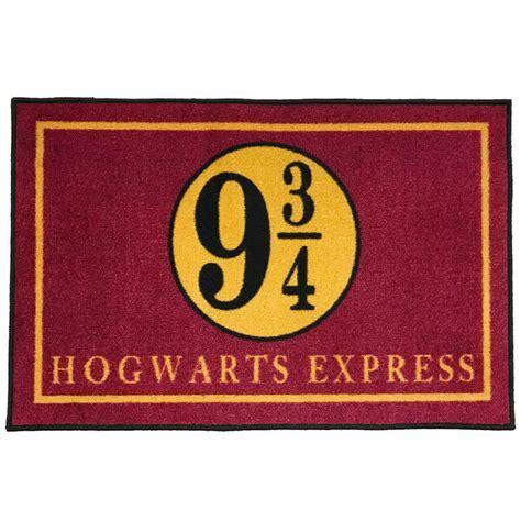 Platform 9 3/4 Hogwarts Express Welcome Doormat   2' x 3