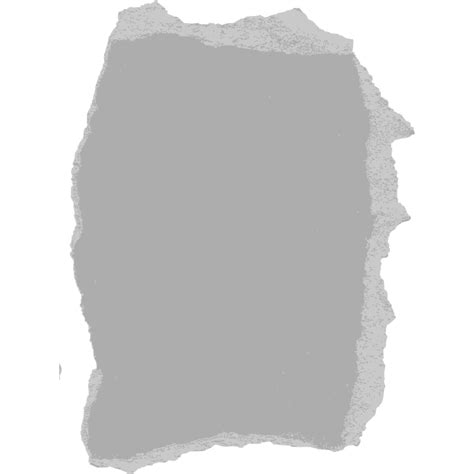White Rectangle Black Pattern - Ripped Paper Png png ...