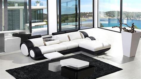 canaper noir et blanc photos canapé d 39 angle cuir blanc et noir