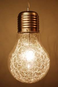 Große Glühbirne Als Lampe : gl hbirne als lampe glas pendelleuchte modern ~ Eleganceandgraceweddings.com Haus und Dekorationen
