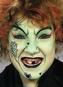 Halloween Hexe Schminken Kind Kinderschminken Halloween Vorlagen