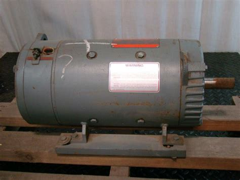 General Electric Motors by General Electric Dc Motor Shunt Wound 1kw 850rpm 230v