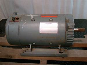 General Electric Dc Motor Shunt Wound 1kw 850rpm 230v