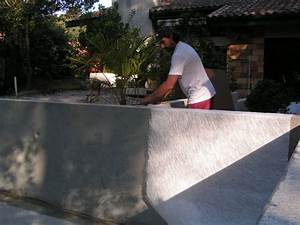 Comment Poser De La Fibre De Verre : construction piscine etape 3 stratification de la piscine ~ Premium-room.com Idées de Décoration